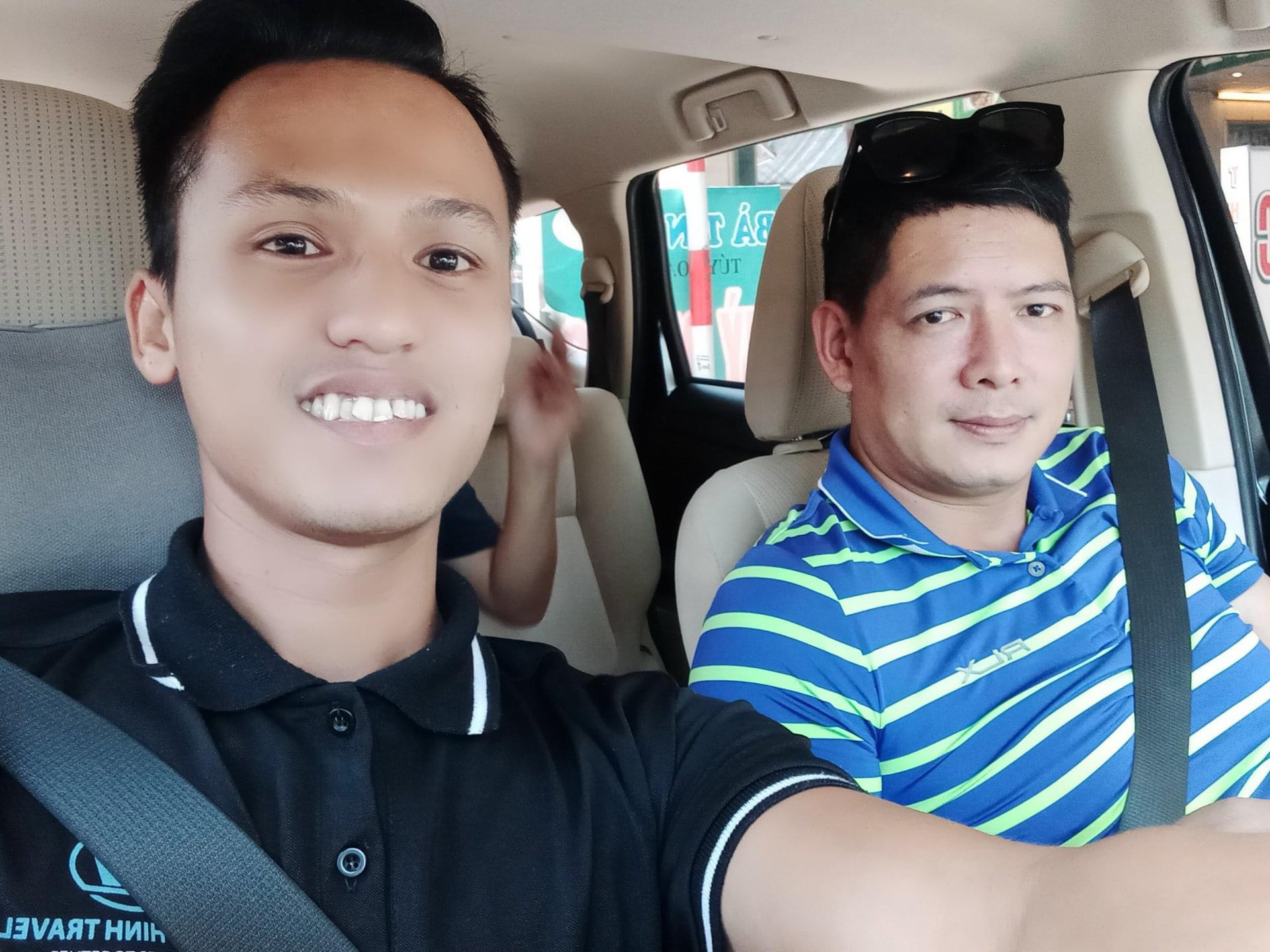 Kính gửi lời cảm ơn đến với khách hàng của công ty Da Nang Travel Car cũng như diễn viên người mẫu Bình Minh